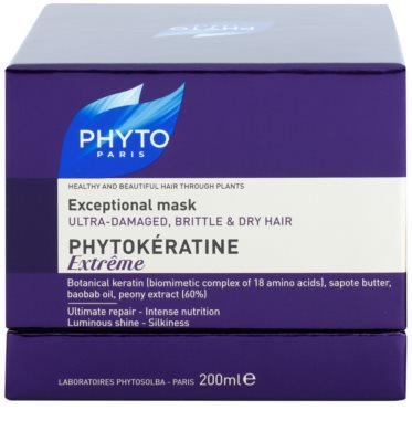 Phyto Phytokératine Extreme възстановяваща маска за силно увредена и крехка коса 3
