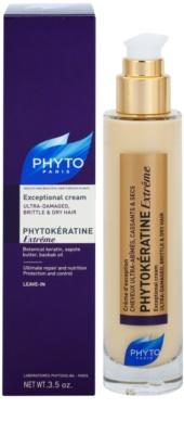 Phyto Phytokératine Extreme obnovující krém pro velmi poškozené křehké vlasy 1