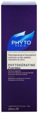 Phyto Phytokératine Extreme champú renovador para cabello quebradizo y maltratado 2