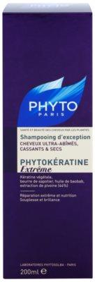 Phyto Phytokératine Extreme възстановяващ шампоан за силно увредена и тънка коса 2