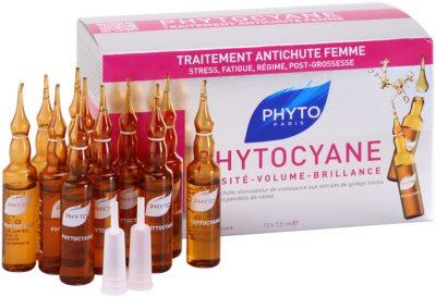 Phyto Phytocyane revitalisierendes Serum gegen Haarausfall