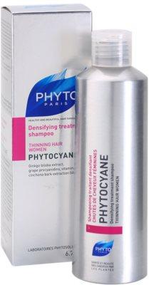 Phyto Phytocyane revitalizáló sampon hajsűrűség fokozására 1