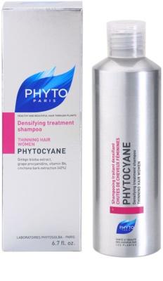 Phyto Phytocyane revitalizáló sampon hajsűrűség fokozására 2