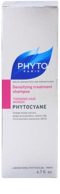 Phyto Phytocyane revitalizacijski šampon za obnovitev gostote las 3