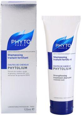 Phyto Phytolium зміцнюючий шампунь проти випадіння волосся 2