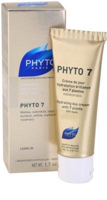 Phyto Phyto 7 Feuchtigkeitscreme für trockenes Haar 1