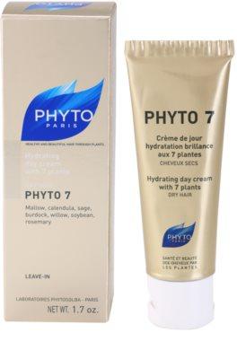 Phyto Phyto 7 Feuchtigkeitscreme für trockenes Haar 2