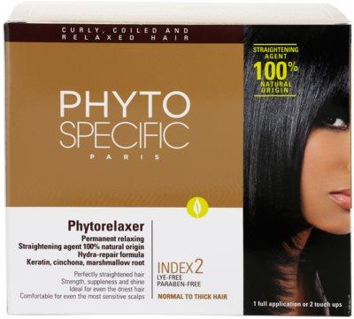 Phyto Specific Phytorelaxer szett a normál és vastag haj kiegyenesítésére 3
