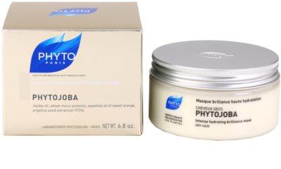 Phyto Phytojoba hidratáló maszk száraz hajra 2