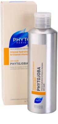 Phyto Phytojoba hydratisierendes Shampoo für trockenes Haar 1