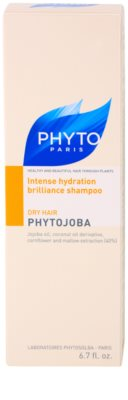 Phyto Phytojoba hydratisierendes Shampoo für trockenes Haar 3