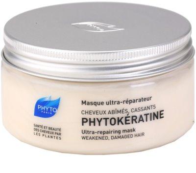Phyto Phytokératine mascarilla reparación para cabello maltratado o dañado