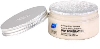 Phyto Phytokératine máscara renovadora para cabelo danificado 1