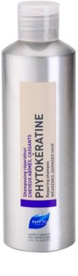 Phyto Phytokératine відновлюючий шампунь для пошкодженого волосся