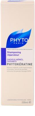 Phyto Phytokératine відновлюючий шампунь для пошкодженого волосся 3