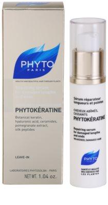 Phyto Phytokératine sérum renovador para las puntas de pelo 3