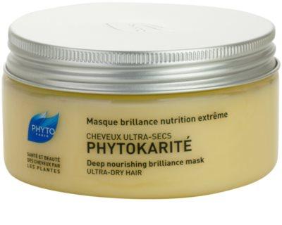Phyto Phytokarité Maske mit ernährender Wirkung für sehr trockene Haare