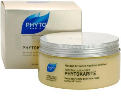 Phyto Phytokarité Maske mit ernährender Wirkung für sehr trockene Haare 2