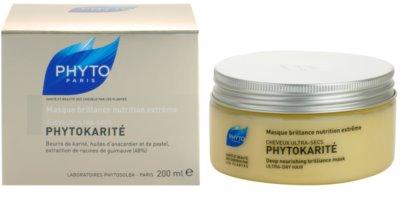 Phyto Phytokarité Maske mit ernährender Wirkung für sehr trockene Haare 3