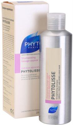 Phyto Phytolisse erősítő sampon normál és jó minőségű hajra 1