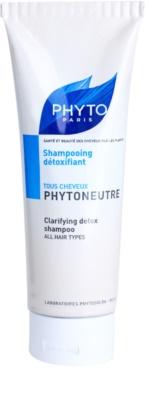 Phyto Phytoneutre champô para todos os tipos de cabelos