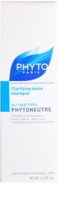 Phyto Phytoneutre sampon pentru toate tipurile de par 3