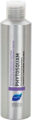 Phyto Phytosquam шампунь проти лупи для жирного волосся