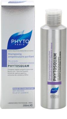 Phyto Phytosquam Shampoo gegen Schuppen für fettiges Haar 2