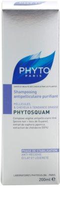 Phyto Phytosquam šampon proti lupům pro mastné vlasy 3