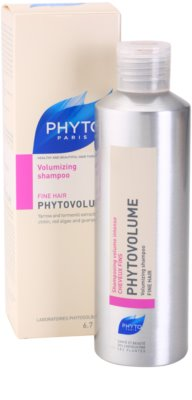 Phyto Phytovolume sampon pentru volum pentru par fin 1