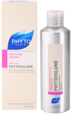 Phyto Phytovolume sampon pentru volum pentru par fin 2