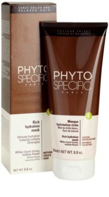 Phyto Specific Shampoo & Mask vlažilna maska 1