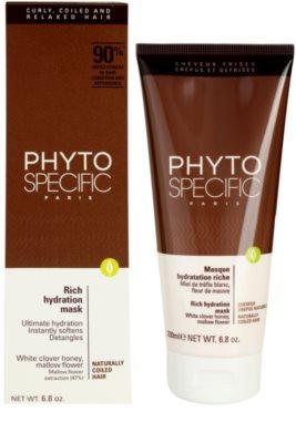 Phyto Specific Shampoo & Mask vlažilna maska 2
