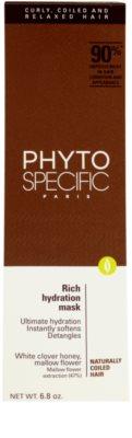 Phyto Specific Shampoo & Mask vlažilna maska 3