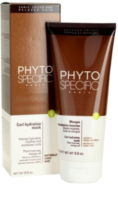 Phyto Specific Shampoo & Mask maseczka nawilżająca do włosów kręconych 1
