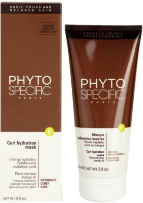 Phyto Specific Shampoo & Mask maseczka nawilżająca do włosów kręconych 2