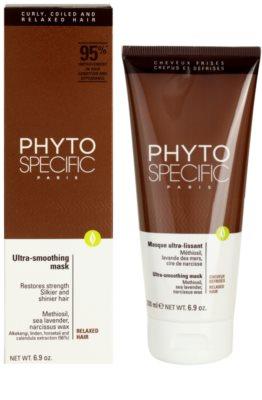 Phyto Specific Shampoo & Mask mascarilla regeneradora para cabello químicamente tratado 2