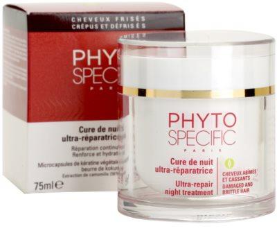 Phyto Specific Specialized Care éjszakai regeneráló maszk a sérült, töredezett hajra 2