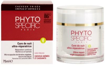 Phyto Specific Specialized Care éjszakai regeneráló maszk a sérült, töredezett hajra 3