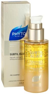 Phyto Subtil Elixir aceite nutritivo para cabello muy seco 1