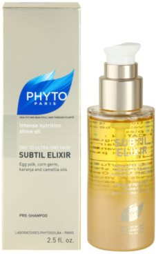 Phyto Subtil Elixir aceite nutritivo para cabello muy seco 2