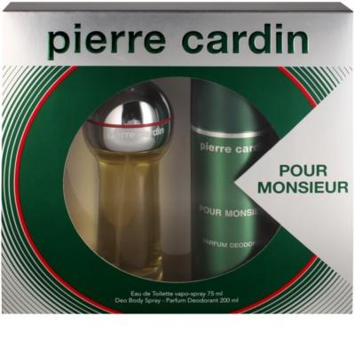 Pierre Cardin Pour Monsieur for Him coffret presente