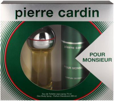 Pierre Cardin Pour Monsieur for Him lote de regalo