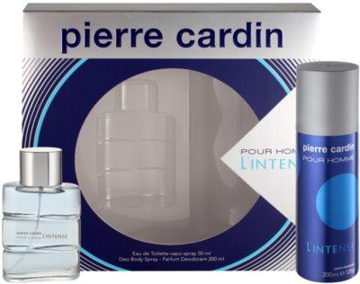 Pierre Cardin Pour Homme l'Intense ajándékszett 1