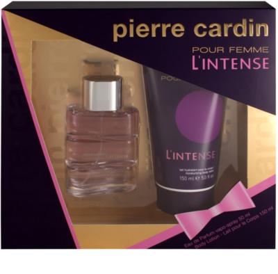 Pierre Cardin Pour Femme L'Intense coffret presente