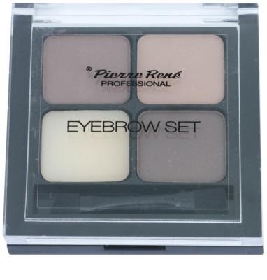 Pierre René Eyes Eyebrow paleta de maquillaje para cejas