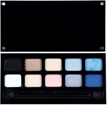Pierre René Eyes Match System 10 színt tartalmazó szemhéjfesték paletta