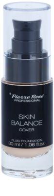 Pierre René Face Skin Balance vízzel lemosható make-up folyadék a hosszan tartó hatásért