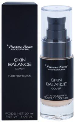 Pierre René Face Skin Balance maquillaje líquido resistente al agua con efecto de larga duración 2