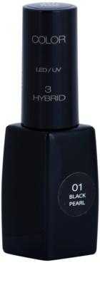 Pierre René Nails Hybrid гел лак за нокти с използване на UV/LED лампа